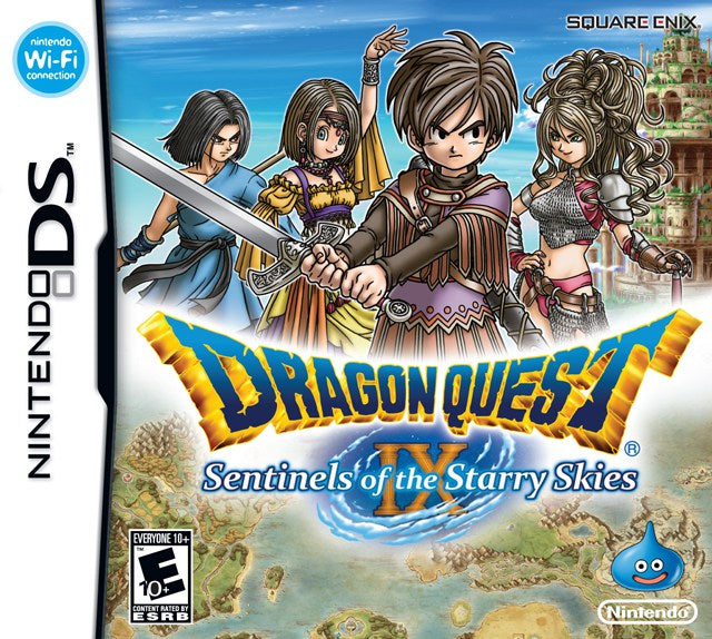 Dragon Quest IX Sentinels of the Starry Skies - Nintendo DS