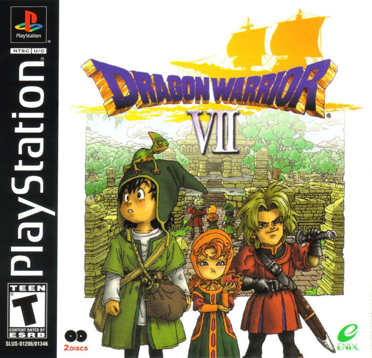 Dragon Quest VII - PlayStation 1