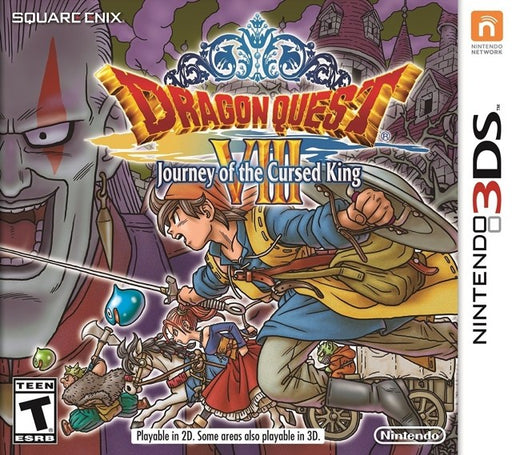Dragon Quest VIII Journey of the Cursed King - Nintendo 3DS