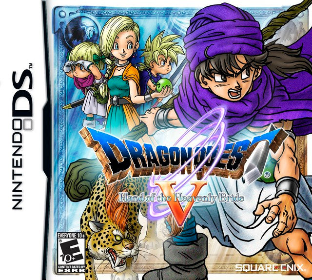 Dragon Quest V Hand of the Heavenly Bride - Nintendo DS