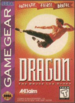 Dragon The Bruce Lee Story - Sega Game Gear