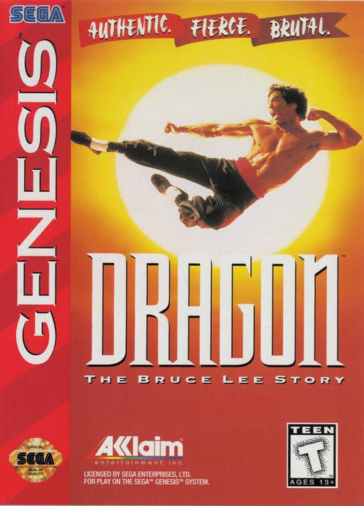 Dragon The Bruce Lee Story - Sega Genesis