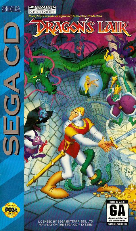 Dragons Lair - Sega CD