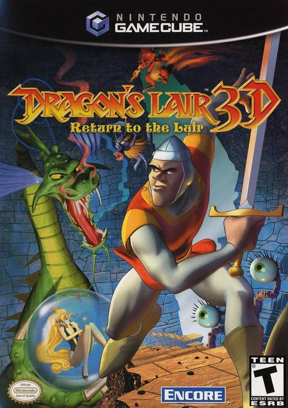 Dragons Lair 3D Return to the Lair - Gamecube