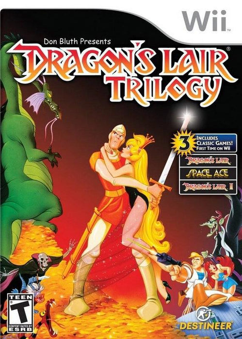 Dragons Lair Trilogy - Wii
