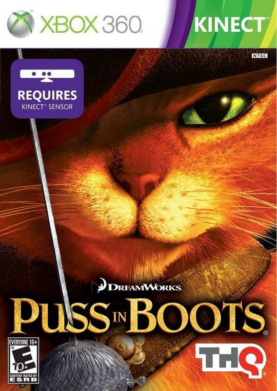 DreamWorks Puss in Boots - Xbox 360