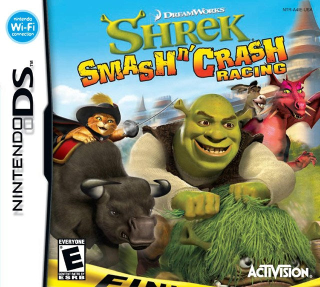 DreamWorks Shrek Smash n Crash Racing - Nintendo DS