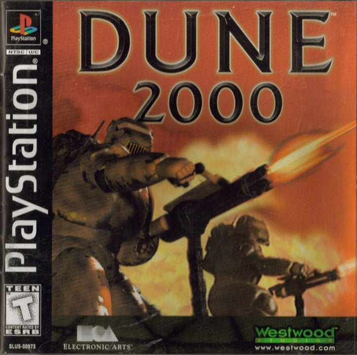 Dune 2000 - PlayStation 1