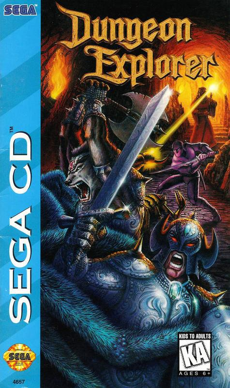 Dungeon Explorer - Sega CD