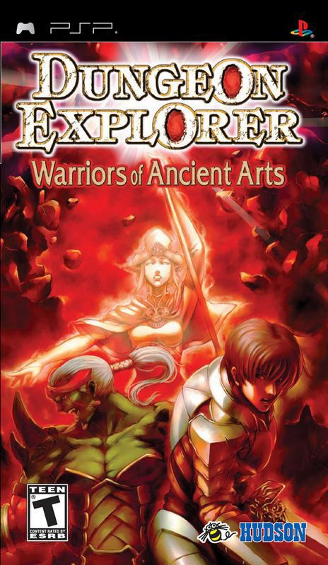 Dungeon Explorer Warriors of Ancient Arts - PlayStation Portable