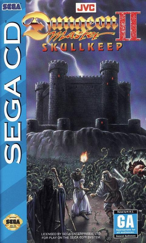 Dungeon Master II Skullkeep - Sega CD