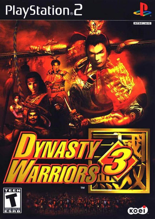 Dynasty Warriors 3 - PlayStation 2