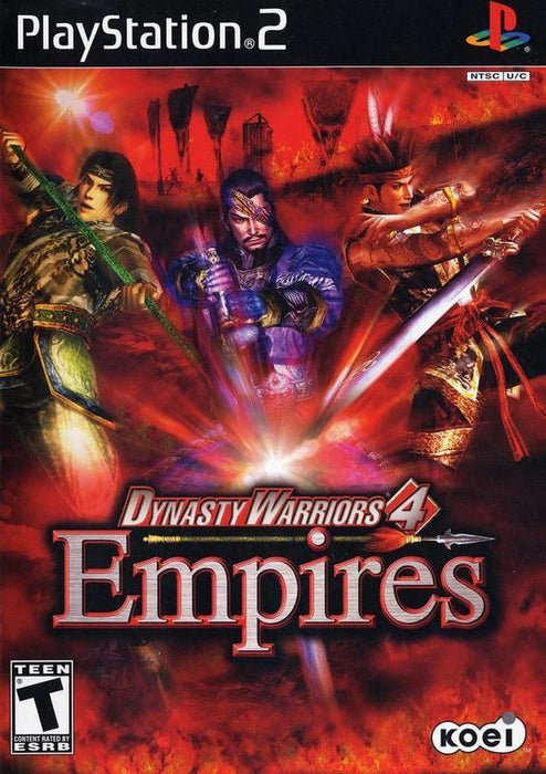 Dynasty Warriors 4 Empires - PlayStation 2