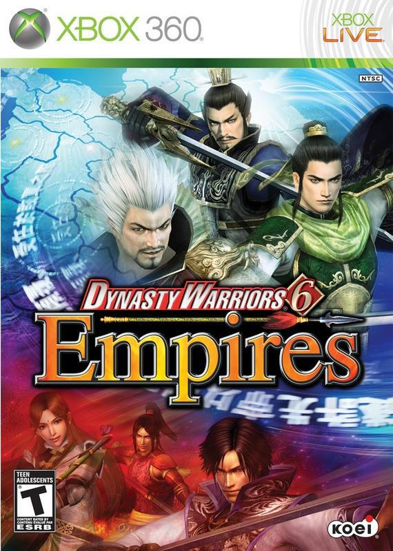 Dynasty Warriors 6 Empires - Xbox 360