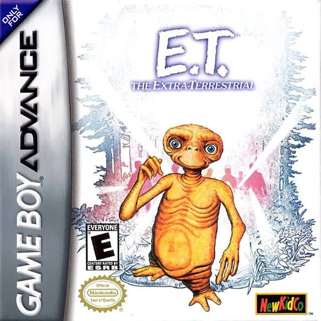 E.T. The Extra-Terrestrial - Game Boy Advance