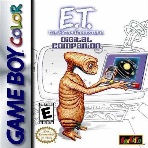 E.T. The Extra-Terrestrial Digital Companion - Game Boy Color
