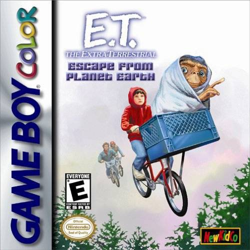 E.T. The Extra-Terrestrial Escape from Planet Earth - Game Boy Color