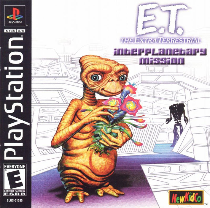 E.T. the Extra-Terrestrial Interplanetary Mission - PlayStation 1