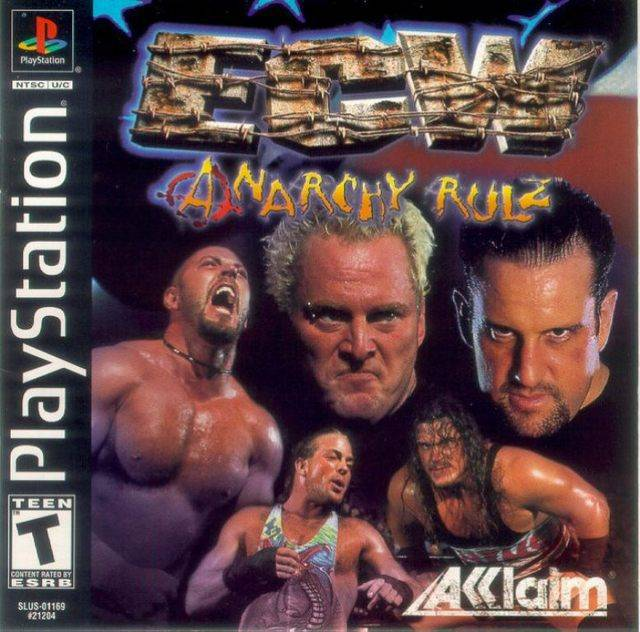 ECW Anarchy Rulz - PlayStation 1