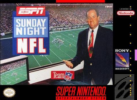 ESPN Sunday Night NFL - Super Nintendo Entertainment System