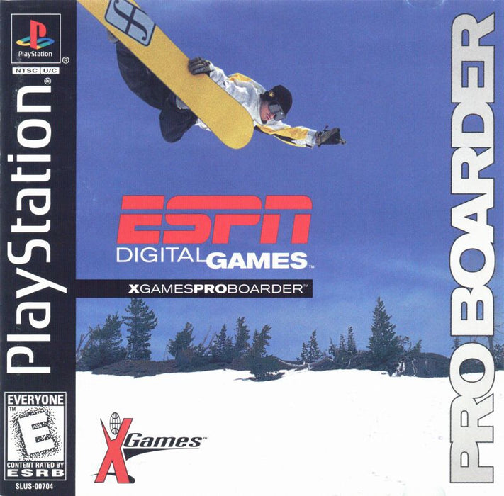 ESPN X-Games Pro Boarder - PlayStation 1