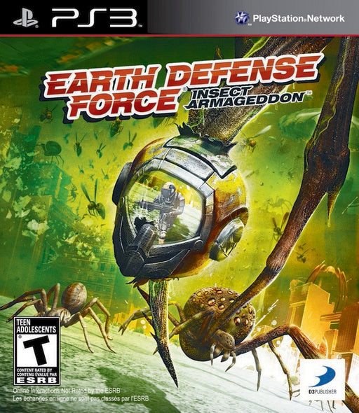 Earth Defense Force Insect Armageddon - PlayStation 3