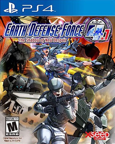 Earth Defense Force 4.1 The Shadow of New Despair - PlayStation 4