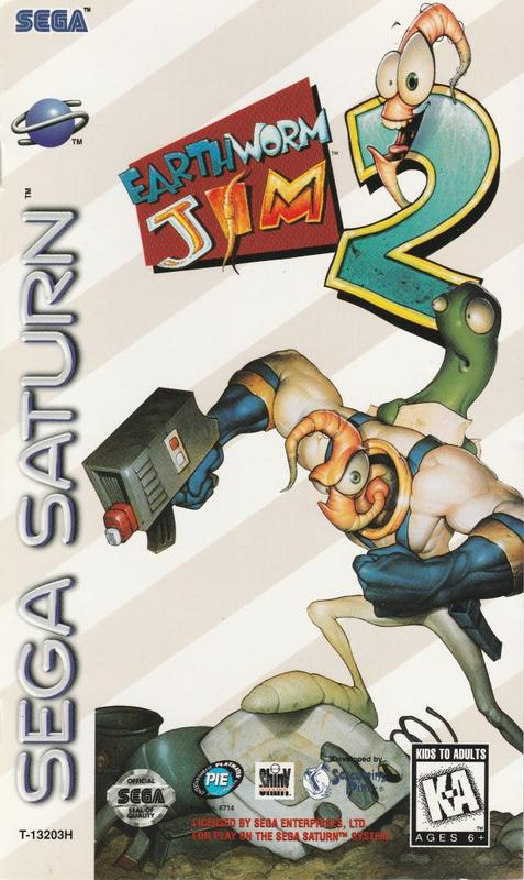 Earthworm Jim 2 - Sega Saturn