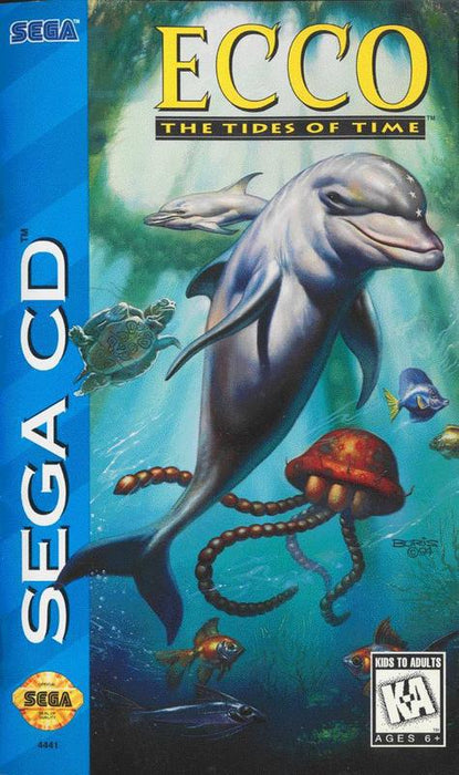 Ecco The Tides of Time - Sega CD