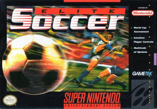 Elite Soccer - Super Nintendo Entertainment System