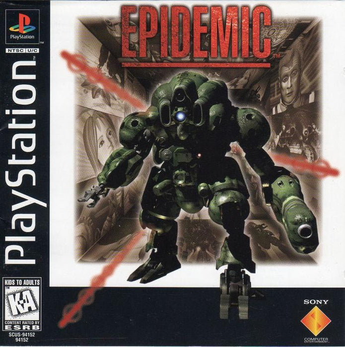 Epidemic - PlayStation 1