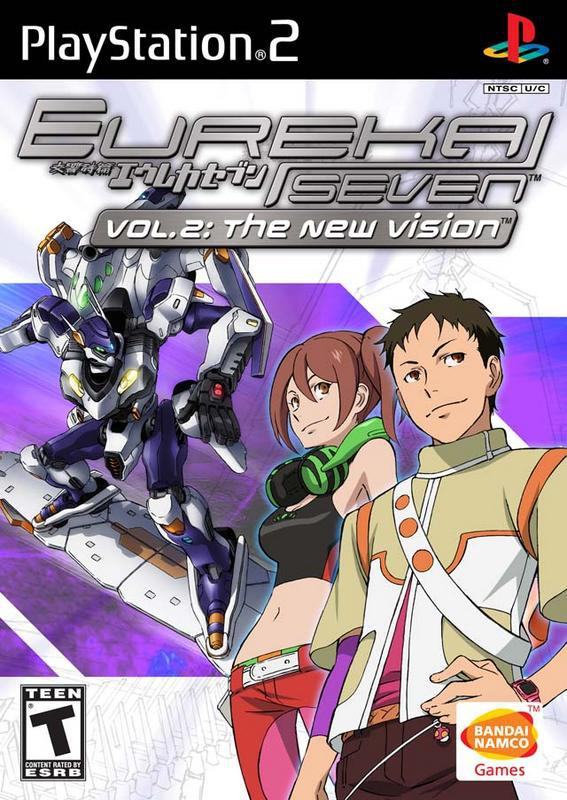 Eureka Seven vol. 2 The New Vision - PlayStation 2