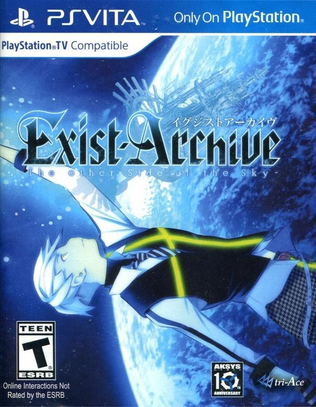 Exist Archive The Other Side of the Sky - PlayStation Vita