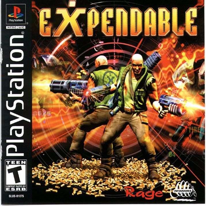 Expendable - PlayStation 1