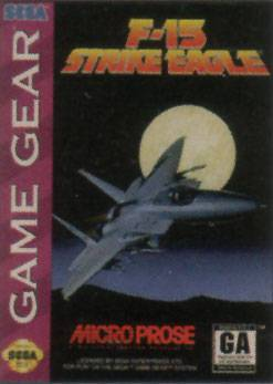F-15 Strike Eagle - Sega Game Gear