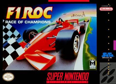 F1 ROC Race of Champions - Super Nintendo Entertainment System