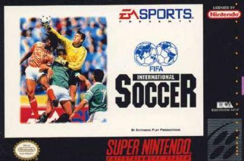 FIFA International Soccer - Super Nintendo Entertainment System