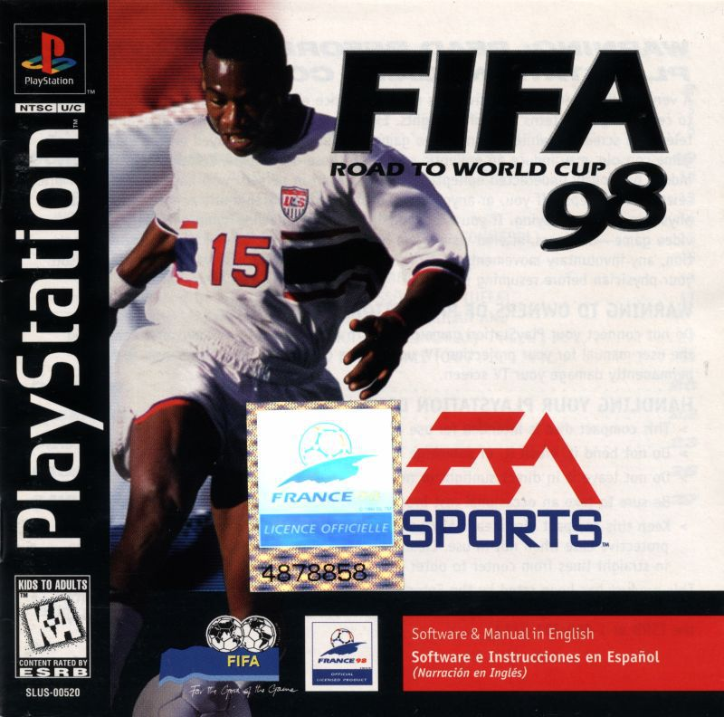 FIFA Road to World Cup 98 - PlayStation 1