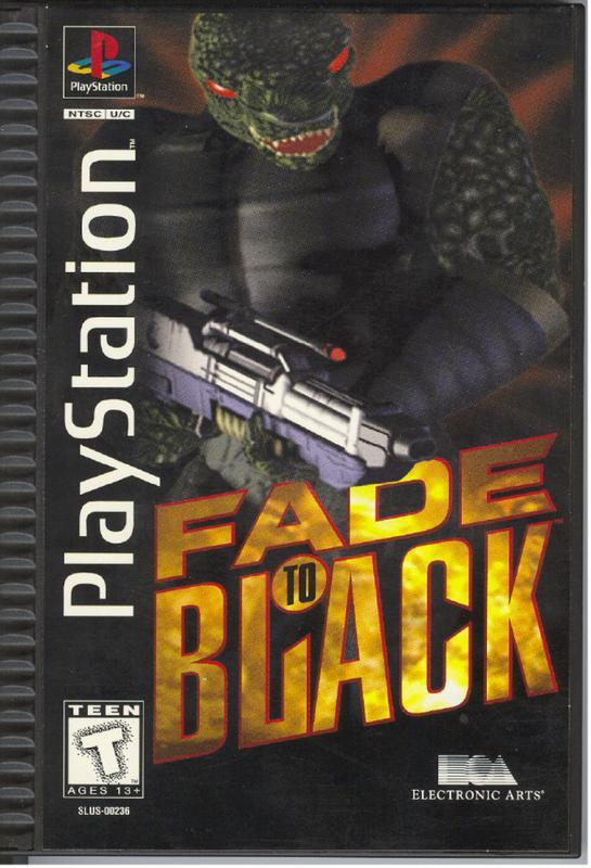 Fade to Black - PlayStation 1