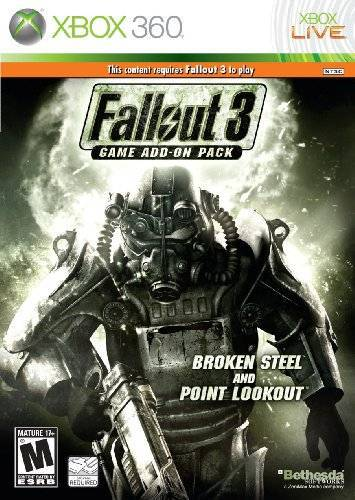 Fallout 3 Game Add-On Pack Broken Steel and Point Lookout - Xbox 360