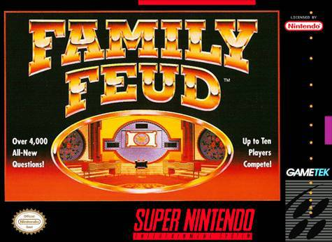 Family Feud - Super Nintendo Entertainment System