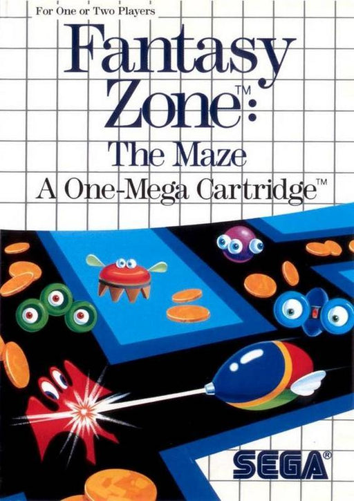 Fantasy Zone The Maze - Sega Master System