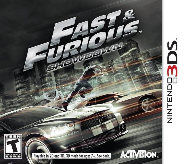Fast & Furious Showdown - Nintendo 3DS