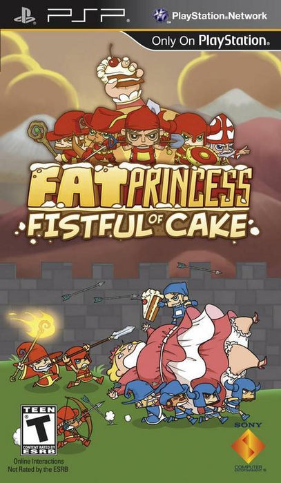 Fat Princess Fistful of Cake - PlayStation Portable