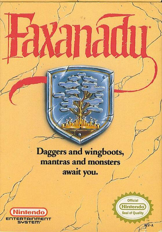Faxanadu - Nintendo Entertainment System