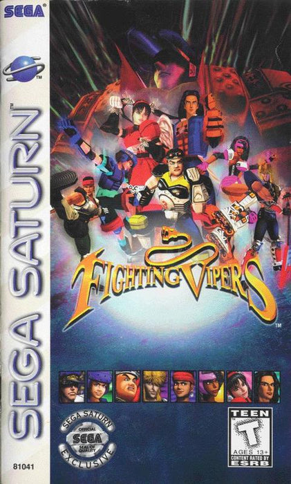 Fighting Vipers - Sega Saturn