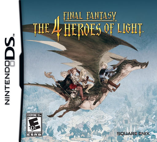 Final Fantasy The 4 Heroes of Light - Nintendo DS