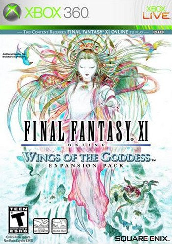 Final Fantasy XI Wings of the Goddess - Xbox 360