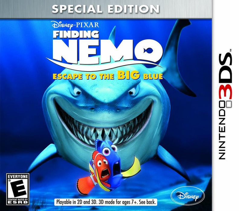 Finding Nemo Escape to the Big Blue Special Edition - Nintendo 3DS