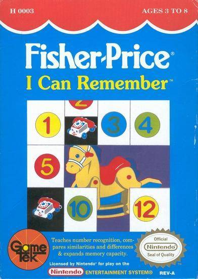 Fisher-Price I Can Remember - Nintendo Entertainment System